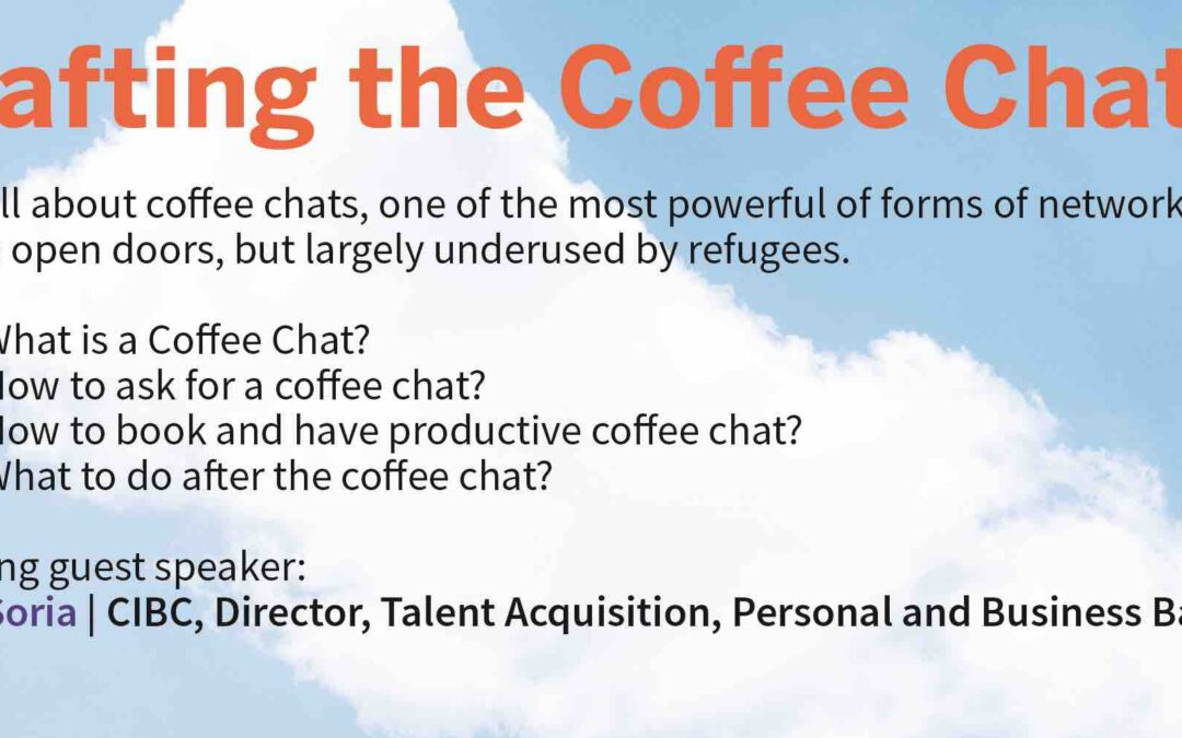 Crafting the Coffee Chat Workshop