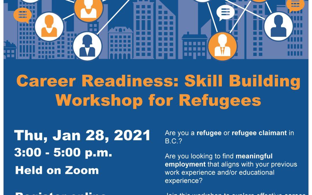 Jan 28 – Career Readiness Workshop